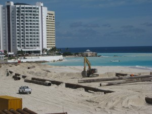 Cancun Beach Recovery