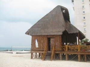Bar en la playa en Cancun