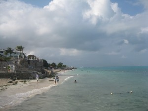 Sea of Playa Tortugas, Cancun