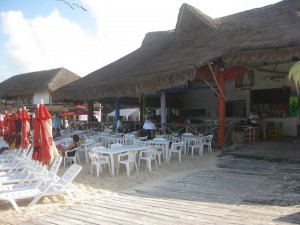 Beach Restaurant @ Playa Tortugas, Cancun