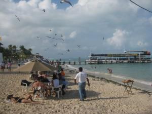 Diversión familiar en Playa Tortugas