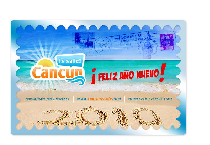 Feliz Año Nuevo 2010 desde Cancun!