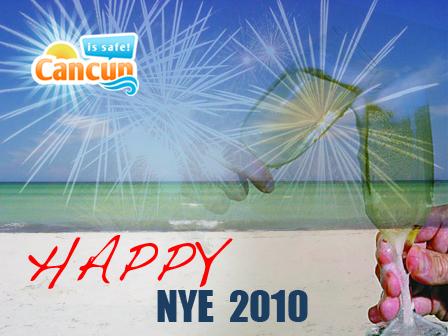 Happy NYE 2010 Cancun!