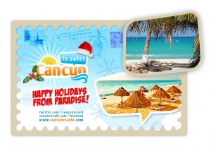 Merry Xmas from Cancun!