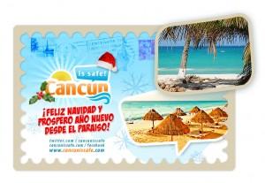 Feliz Navidad desde Cancun!