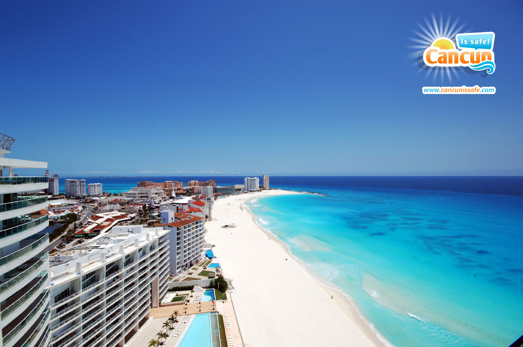 Cancun, paradise in the Mexican Caribbean
